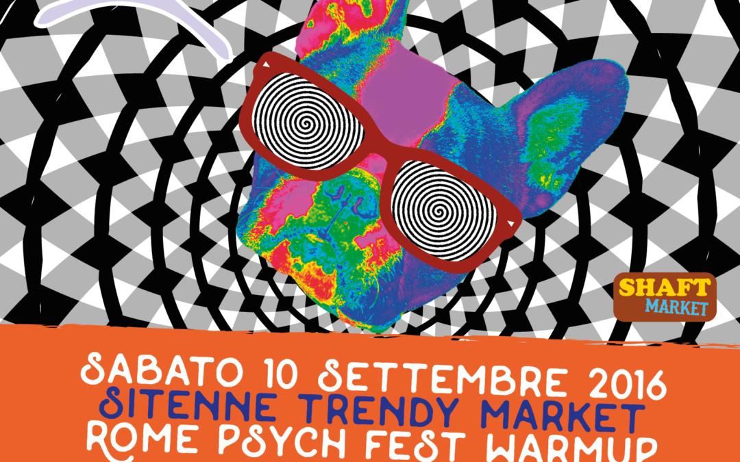 Al monk il 10 settembre per il warm up del Rome Psychedelic Fest