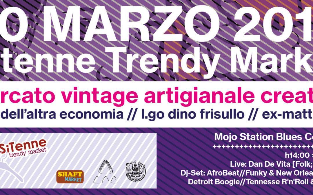 SiTenne Trendy Market a Testaccio il 20 marzo 2016