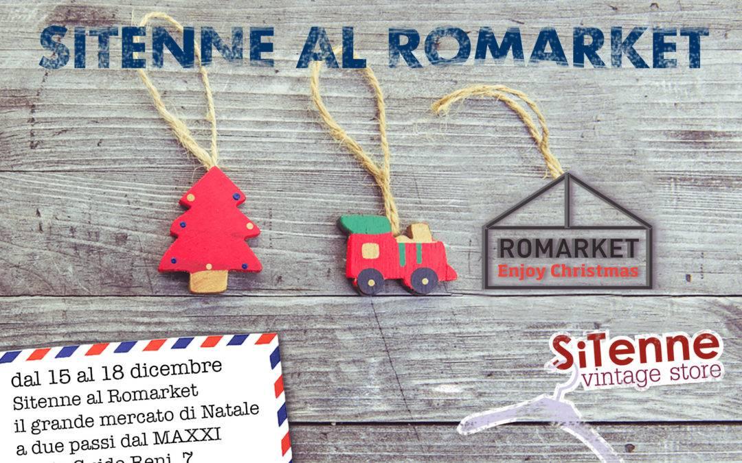 Dicembre ricco di novità: SiTenne partecipa al ROMARKET!!