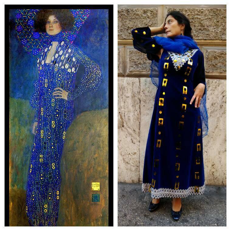 Abbiamo vestito le donne di Klimt all'Ex-Dogana