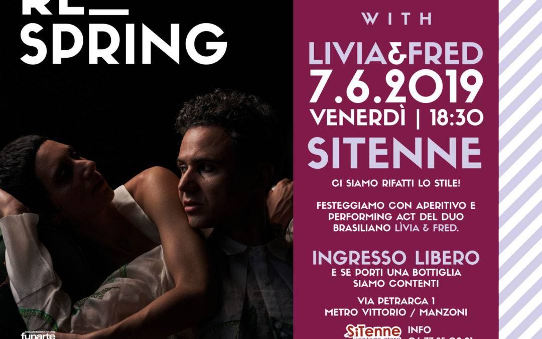 RE_spring – Restyling party con Livia & Fred