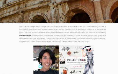 Nella lista del Vestito Verde moda sostenibile a Roma!
